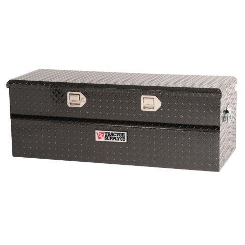 F150 Tool Box >> Tractor Supply Co.® Single Lid Aluminum Chest Tool Box, Black, 46 in. L - Tractor Supply Co ...