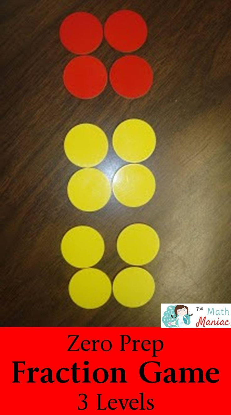 This NO PREP fraction games will have your students working on fraction equivalency and fraction addition. Three different levels to help you differentiate for each student!