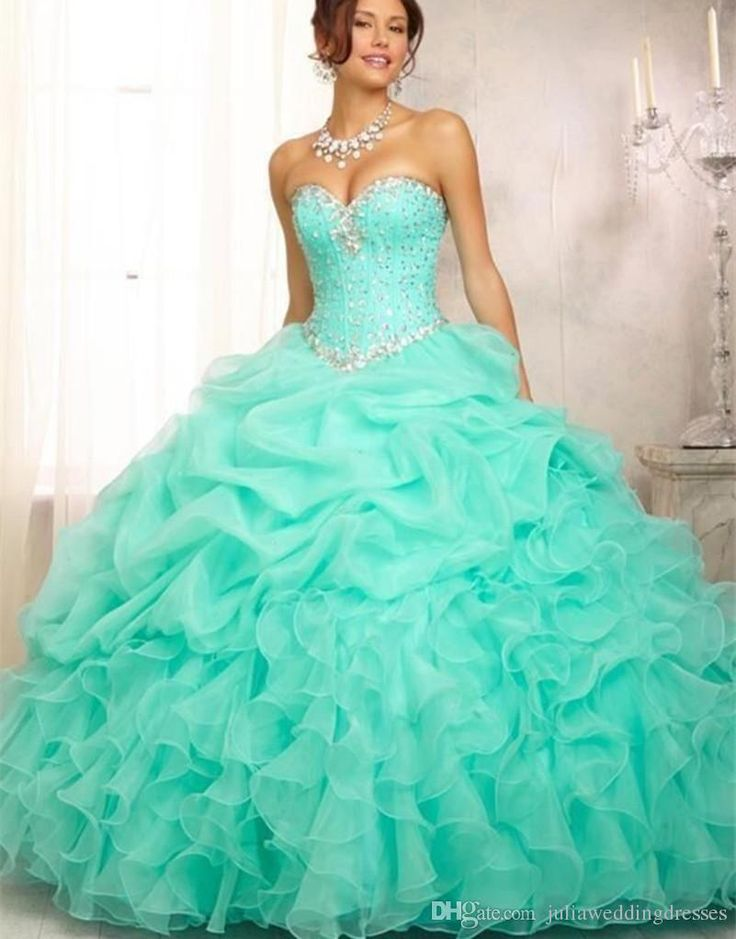 2017 New Pink Mint Blue Quinceanera Dresses Ball Gown For 15 Party Sweet 16 Formal Long Prom Party Gowns In Stock QC237 Quinceanera Dresses Quinceanera Dresses 2016 Quinceanera Gowns Online with $83.43/Piece on Juliaweddingdresses's Store | DHgate.com