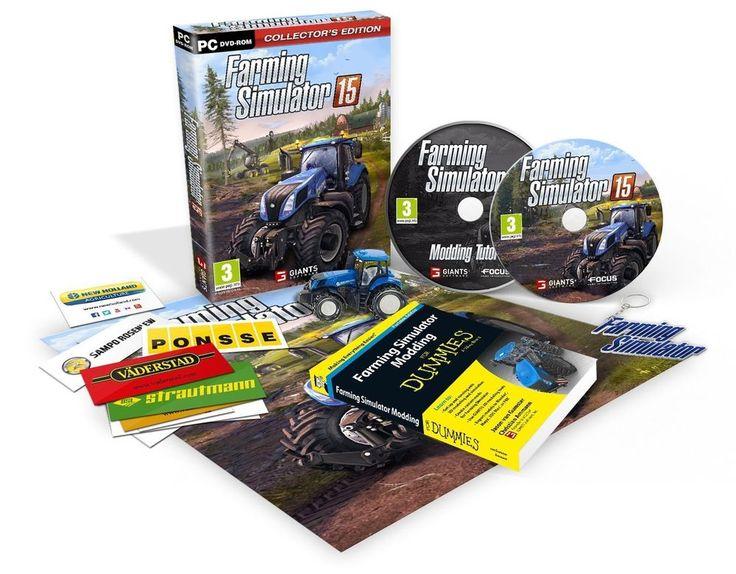 Jeu PC FARMING SIMULATOR 2015 - Edition Collector - NEUF