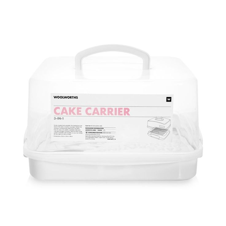 3-in-1 Cake Carrier