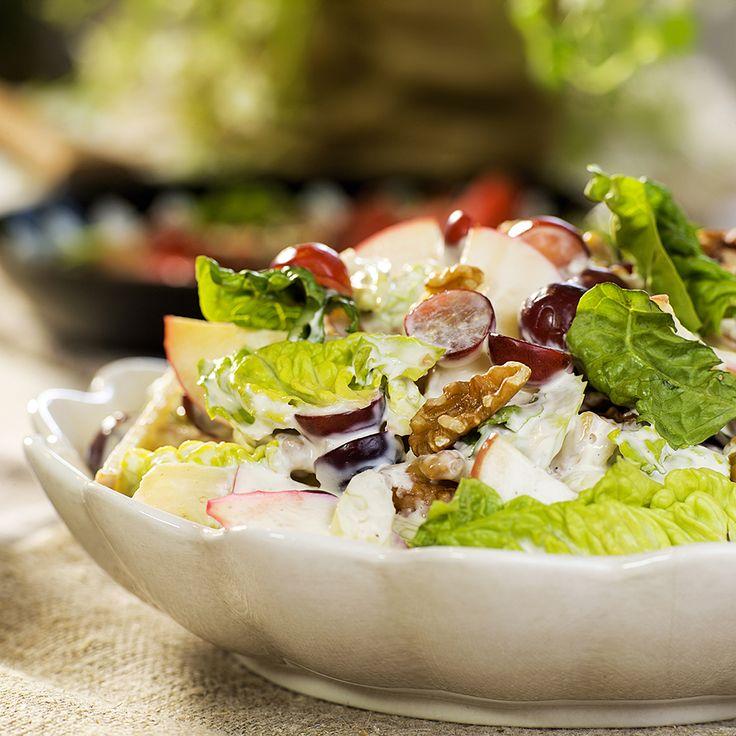 den beste waldorfsalaten fra Fru Timians matblogg