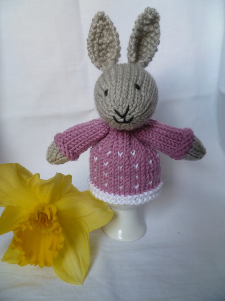 Encantador Knitting Pattern For Chicken Egg Cosy Imagen - Manta de ...