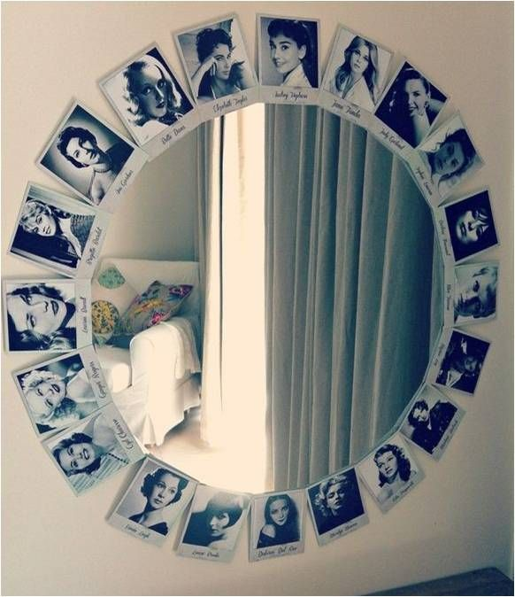 An Extremely Easy And Brilliant DIY Idea To Make The Mirror In Your Room Focal