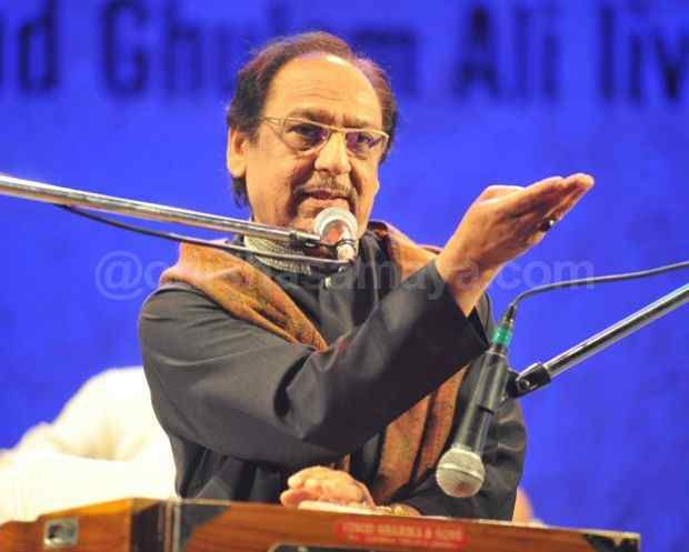 Ghulam Ali to perform in Lucknow on December 3 - http://odishasamaya.com/news/india/ghulam-ali-to-perform-in-lucknow-on-december-3/62907