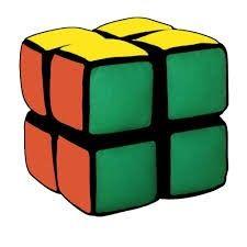 Mon premier Rubik's cube  hochet  avecs sons 2X2  pour bébé