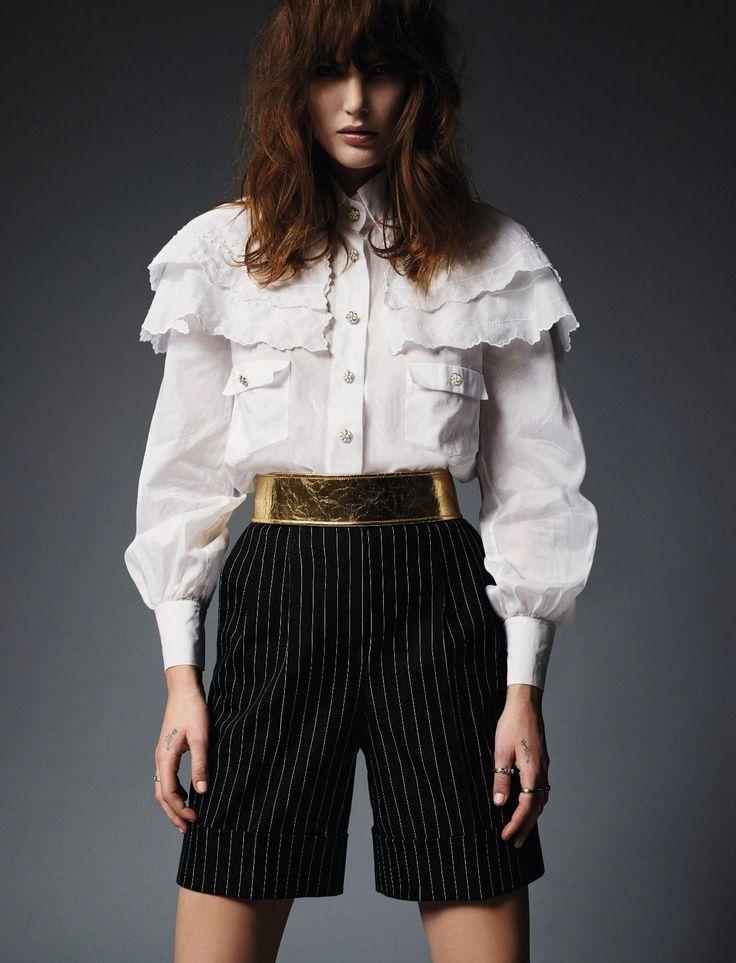 Catherine McNeil by Jean-Baptiste Mondino for Elle France March 2015 14