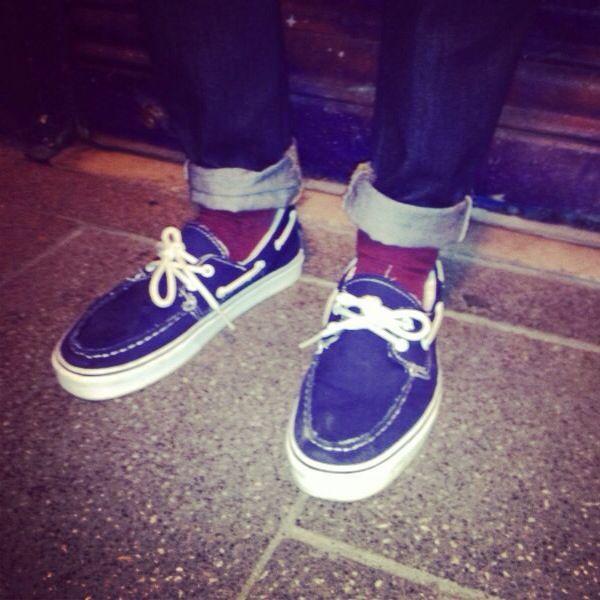 #Canvas #Vans - Zapatos del barco #neverwalkalone