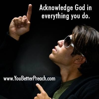 He believed in God