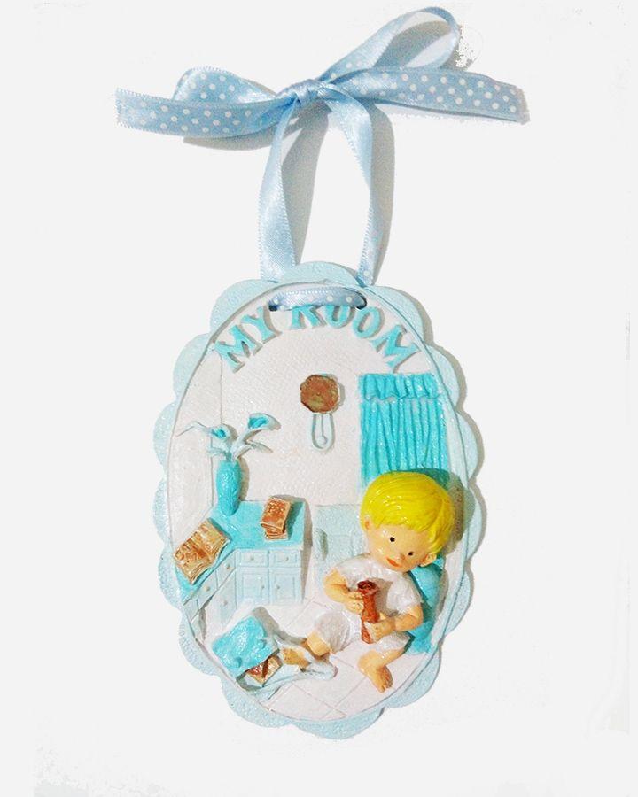My room erkek bebek odası figürü. Dekoratif aksesuar olarak kullanabileceğiniz turkuaz bebek figürü.  http://mucizeevi.com/urun/my-room-bebek-odasi-dekoratif-obje-turkuaz/