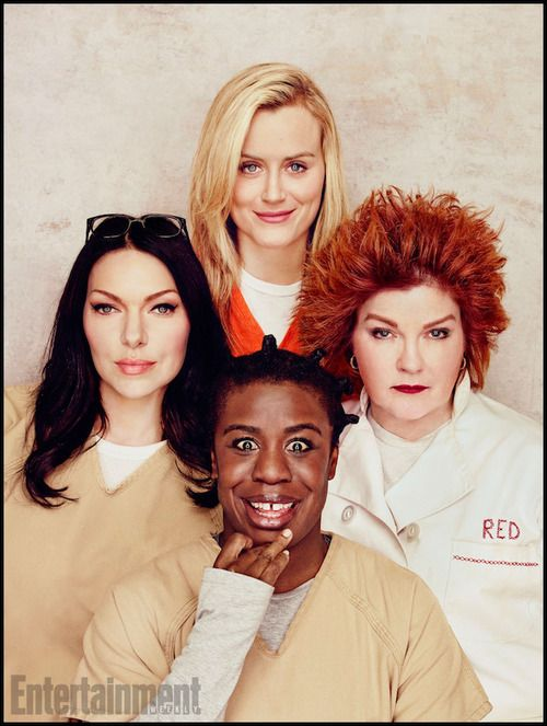 Laura Prepon, Taylor Schilling, Uzo Aduba and Kate Mulgrew for Entertainment Weekly