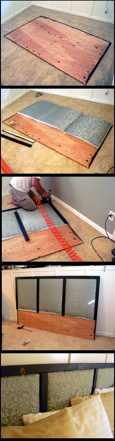 Headboard tutorial...someday when we don't move 2 times a year!!