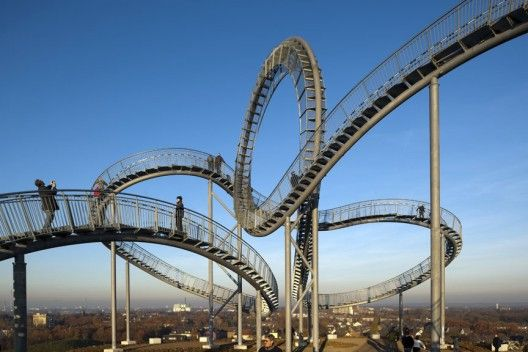 Tiger & Turtle – Magic Mountain / Heike Mutter + Ulrich Genth. GERMANY.