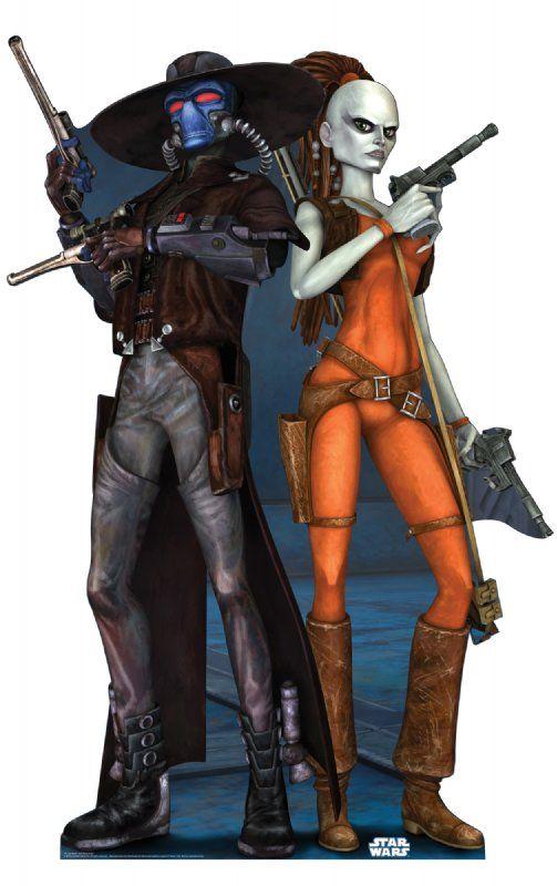 Starb Wars Aura Sing Bounty Hunter Cad Bane