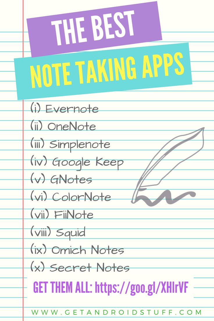 Save anything that crosses your mind and store all useful information with the best free Android note taking app. http://getandroidstuff.com/the-7-best-free-note-taking-app-for-android/