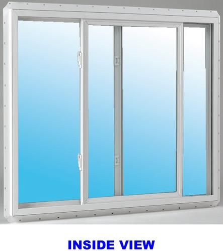 Jeld Wen 60 X 60 White Vinyl Low E Slider Window At Menards