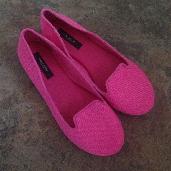 pink flats bright pink flats fabric with