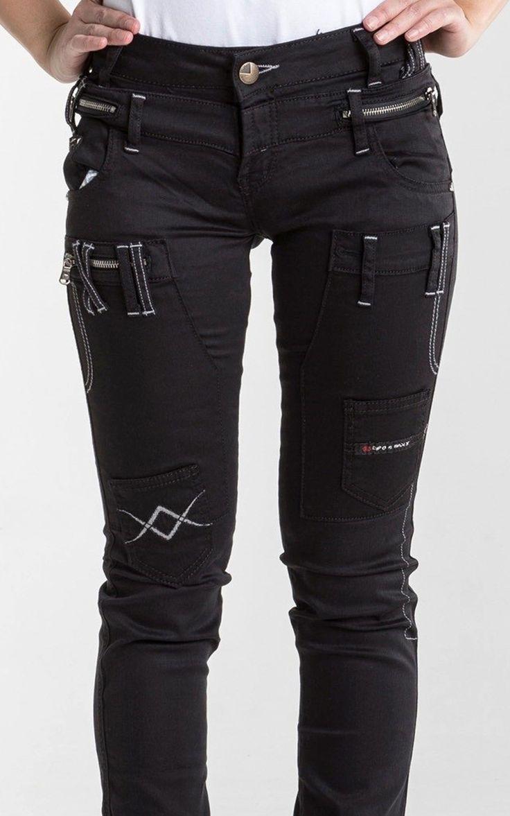 Cipo Baxx Womens Jeans AUW08 - CIPO & BAXX - AUSTRALIA