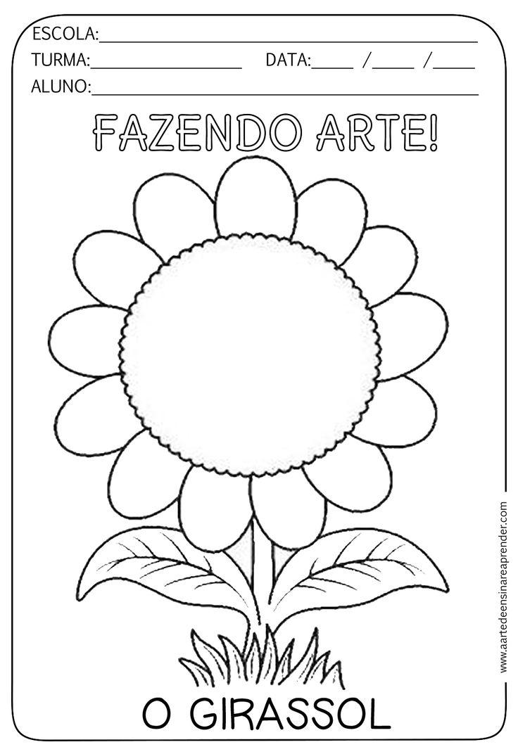 Dica para realizar esta atividade: 1- Primeiro trabalhar a poesia O girassol de Vinícius de Moraes O GIRASSOL Sempre qu...