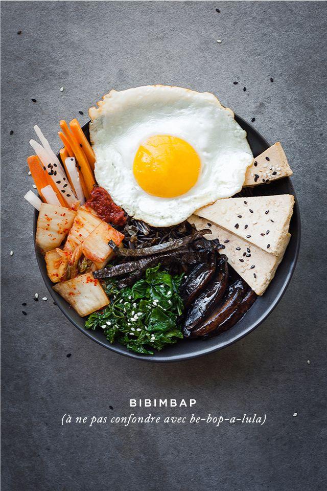 Bibimbap végétarien