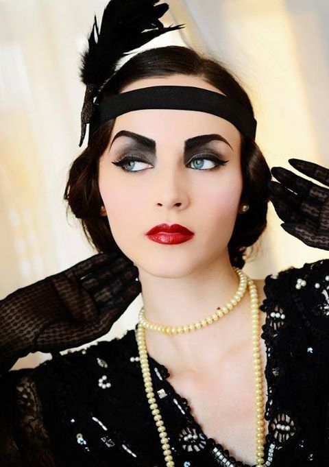 crazy flapper photoshoot - Google Search