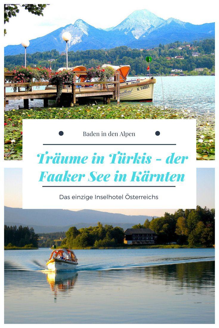 Türkisfarbenes Wasser, angenehme 28 Grad - der Faaker See ist der wärmste und womöglich schönste Bergsee Österreichs
