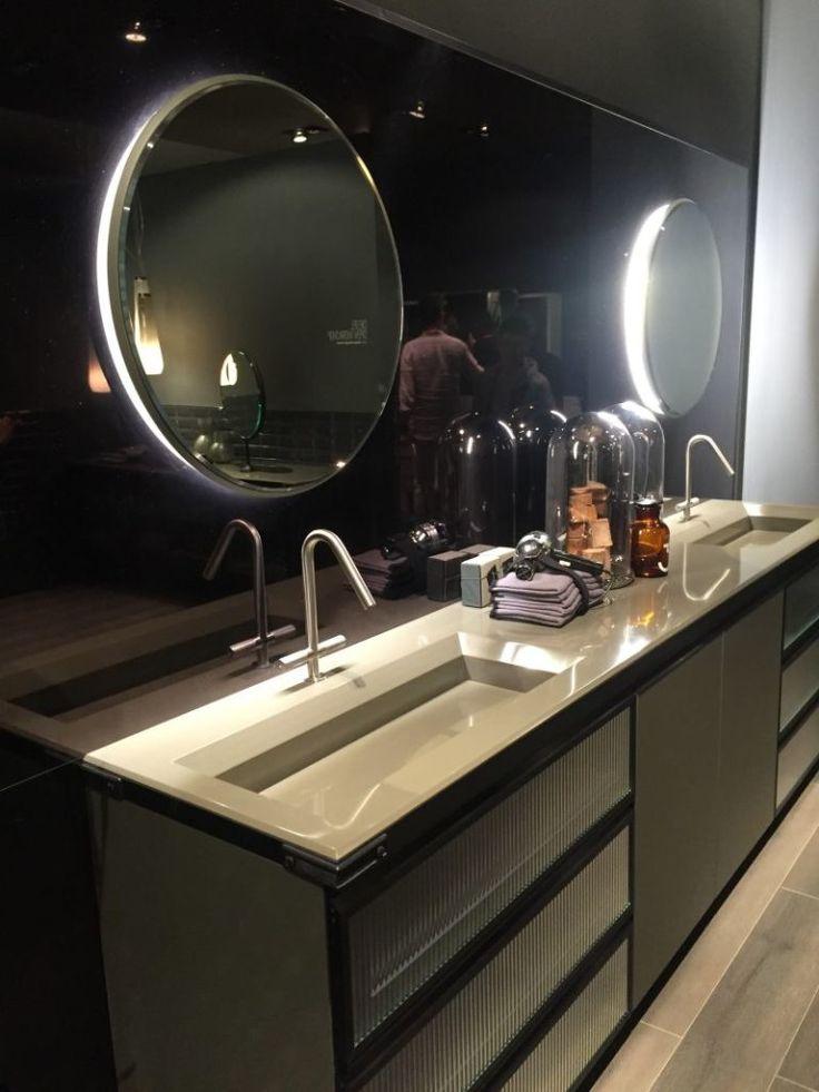Двойные раковины в ванных комнатах 2