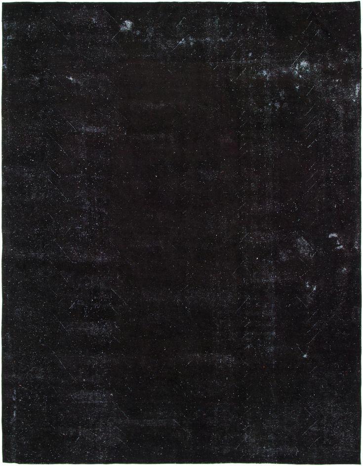 Black 9' 7 x 12' 3 Ultra Vintage Persian Rug   Persian Rugs   eSaleRugs