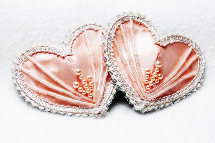 holloway noir smith :: peach pearl deco pasties