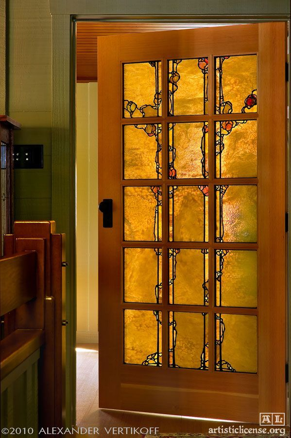 14 Uplifting Bedroom Remodeling Tips Ideas In 2020 Stained Glass Door Stained Glass Craftsman Door