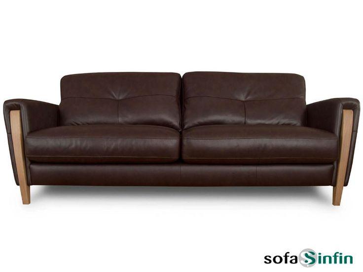 Sofá clásico de 3 y 2 plazas modelo Grace fabricado por Losbu en Sofassinfin.es