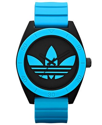 adidas Watch, Unisex Blue Silicone Strap 50mm ADH2847 - Women's Watches - Jewelry  Watches - Macy's
