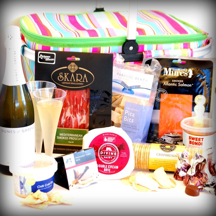 The Deluxe hamper - from $129 plus delivery - an unique gift idea for a new mum!