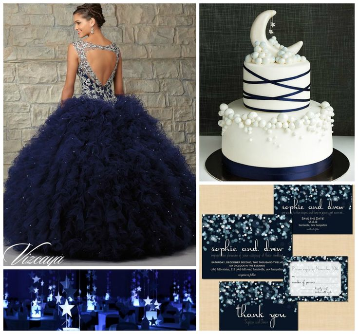 Starry Night Theme Ideas | Quinceanera Ideas |