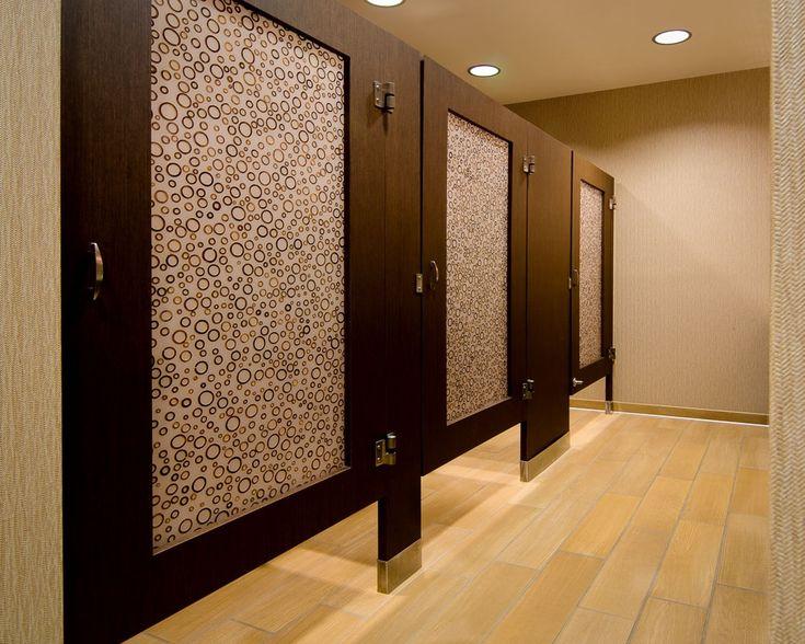 Ironwood Manufacturing custom laminate bathroom doors with Door Lite insert. Unique and upscale public restroom & 13 best Door Lite Toilet Partitions images on Pinterest | Bathroom ... pezcame.com