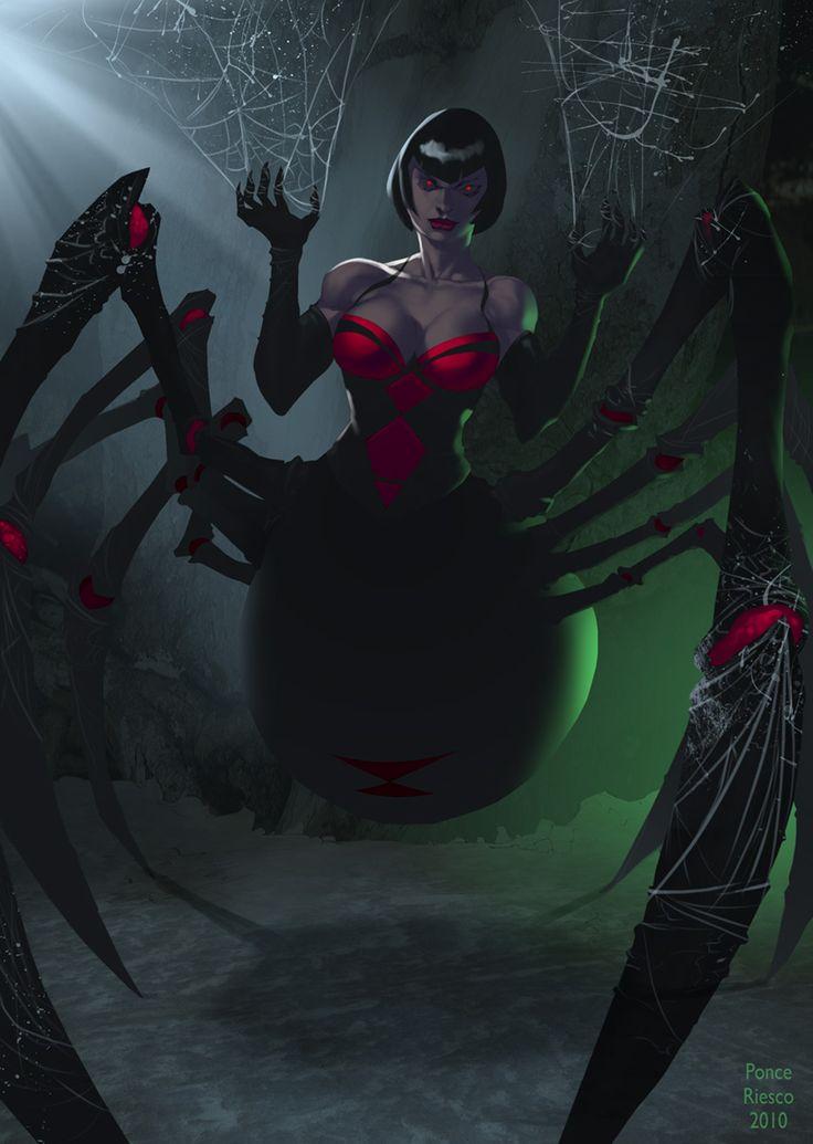 Pin by Crimson Moon on Fantasy Land | Spider art, Fantasy ...