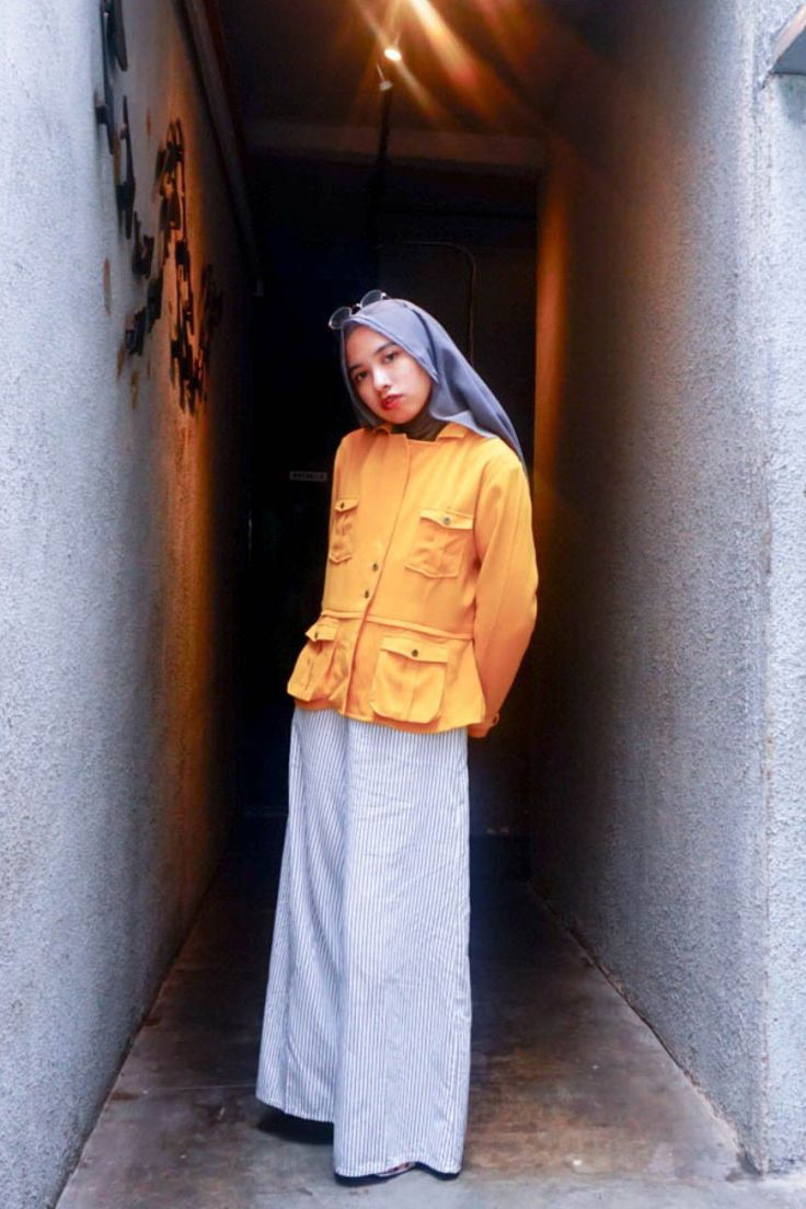 Yellow Power  #ootd #lookbook #indonesia #yellowcrush #cullotes #hijabstyle