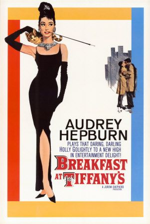Breakfast at Tiffany's (starring Audrey Hepburn and George Peppard) 1961