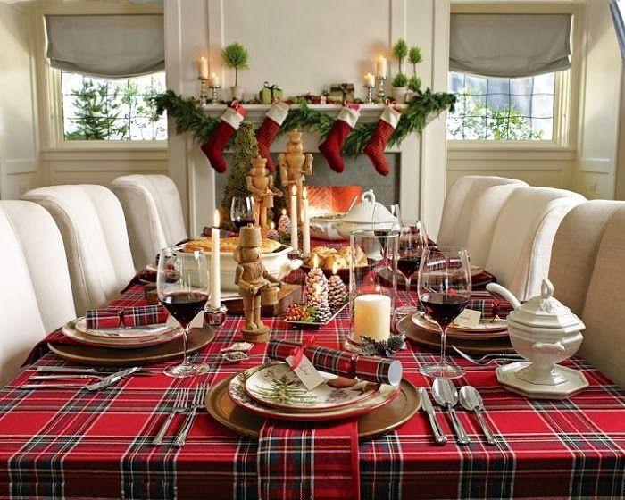 Vicky's Home: Decora con tela escocesa / Decorating with tartan plaid