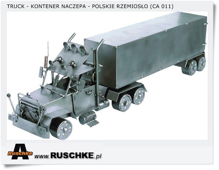 Truck Polish Hand Made Crafts metal model
