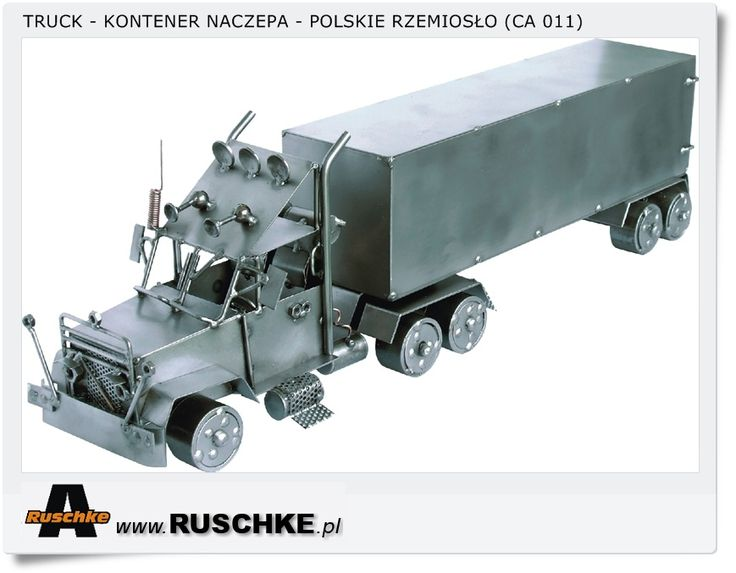 Truck Polish Hand Made Crafts metal model