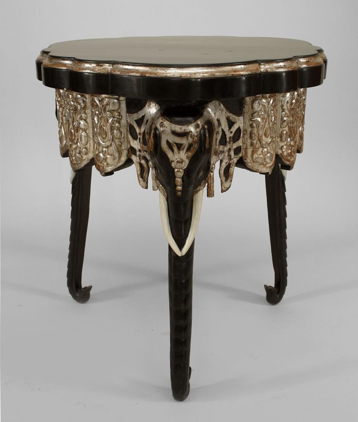 English Regency table end table lacquer