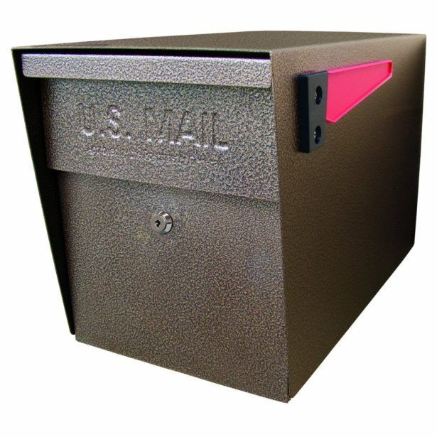 Exterior Private Mailbox Rental Letter Box Lock Box Mailbox Metal Letter Box Locking Rural Mailbox Locking Mailbox Ideas to Apply #homesecuritydiyproducts