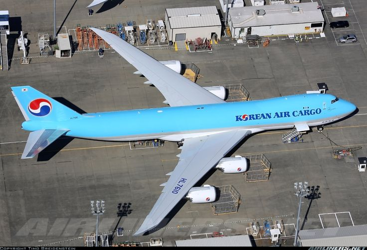 Korean Air Cargo HL7610 Boeing 747-8HTF/SCD aircraft picture