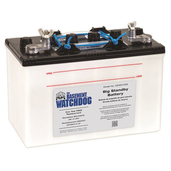 Basement Watchdog Wet Cell Standby Batteries Features And Benefits