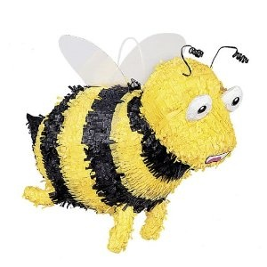 Bumble Bee Pinata for Skippyjon Jones party
