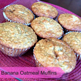 ... | No bake oatmeal, Honey bran muffins and Banana oatmeal muffins