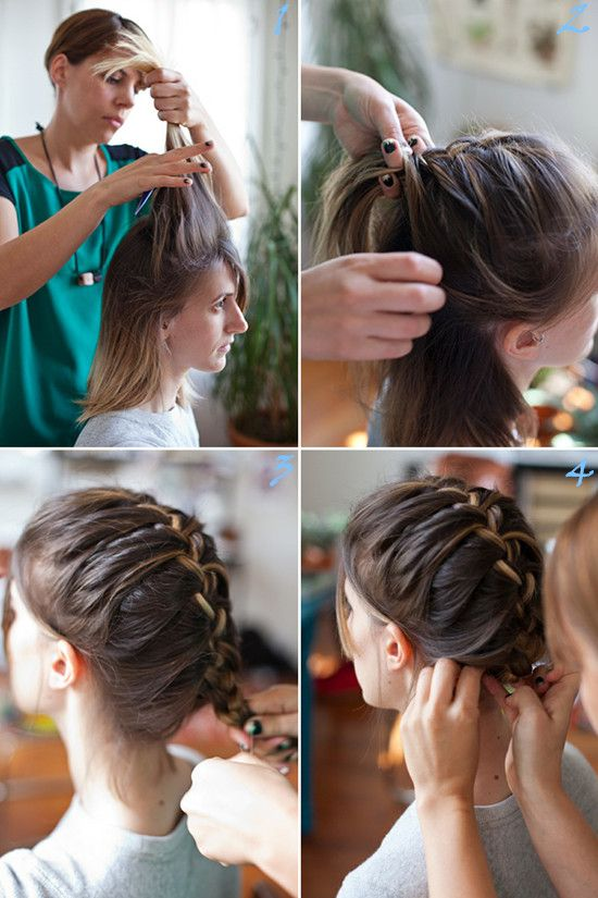 Amazing 17 Best Images About Braided Hairstyles On Pinterest Office Short Hairstyles For Black Women Fulllsitofus