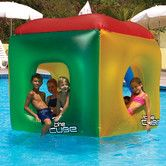 Found it at Wayfair - The Cube Floating Habitat Pool Toy