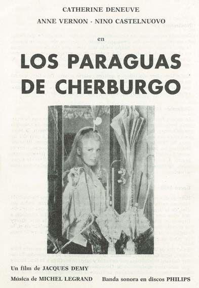 """Los paraguas de Cherburgo (1964) """"Les parapluies de Cherbourg"""" de - Jacques Demy - tt0058450"""